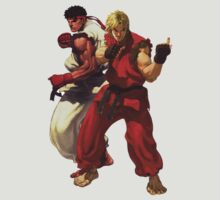 Ryu & Ken Streetfighter shirt by Bergmandesign