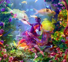 Magical World Under the Sea. by Brian Exton