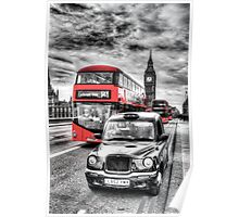 Westminster Bridge London Poster
