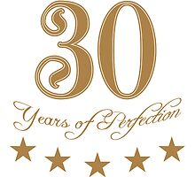 30 years perfection perfection star by Style-O-Mat