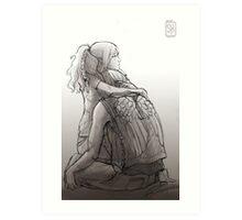 Daryl Dixon & Beth Greene - 01 Art Print