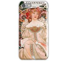 Spring - art nouveau iPhone Case/Skin