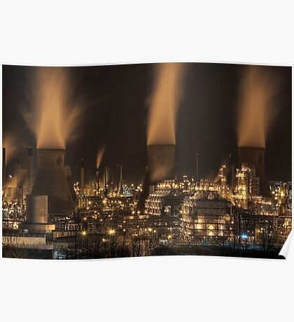 Grangemouth Refinery (5) Poster