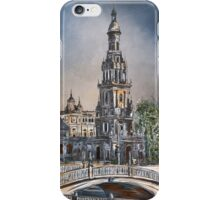 Plaza de Espana in Seville iPhone Case/Skin