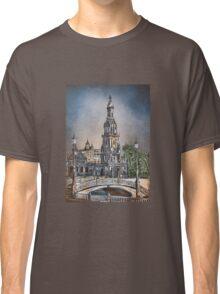 Plaza de Espana in Seville Classic T-Shirt