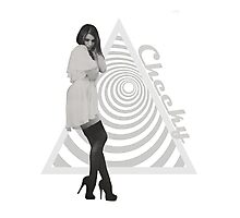 Hypno Girl Photographic Print