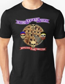 Appetite For Confection - Beyond Kayfabe Podcast T-Shirt
