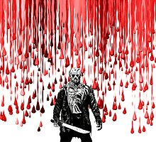 Jason Vorhees blood rain by American Artist