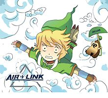 Air Link (The Legend of Zelda) by dorianvincenot