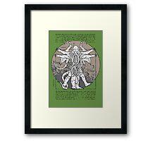 Lovecrafian Man - Variant  Framed Print