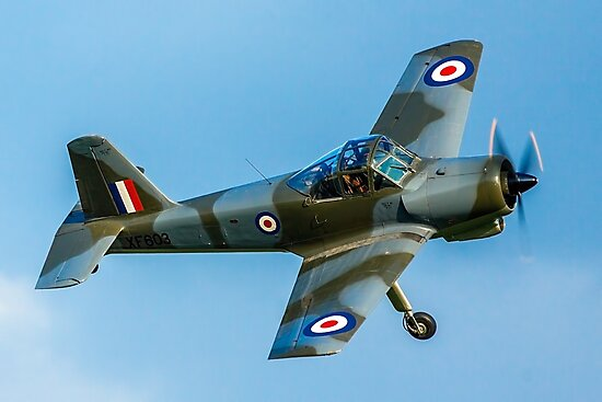 Percival Provost T.1 XF603 G-KAPW by Colin Smedley