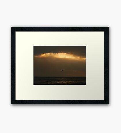 Ocean Sunset Framed Print