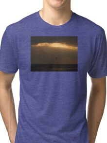 Ocean Sunset Tri-blend T-Shirt