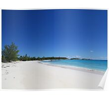 129 Lighthouse Beach Carribean - Eleuthera, Bahamas Poster