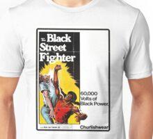 BLACK STREET FIGHTER Unisex T-Shirt