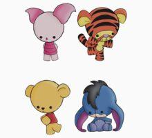 Winnie the pooh set! by GummiZombie