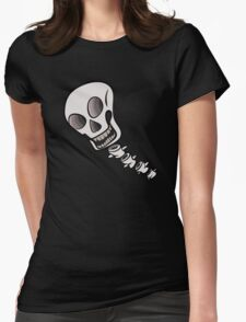 Skull & Spine Womens Fitted T-Shirt