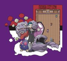 Pokemon - Fuchsia City Gym (Kanto) by Brandon Scribner