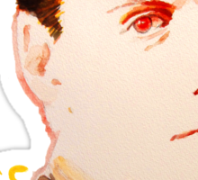 Miss me? - Jim Moriarty Sticker
