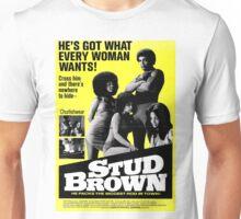 STUD BROWN Unisex T-Shirt