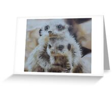 Embraced Greeting Card