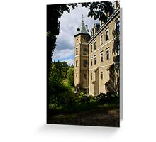 Poland Castle Greeting Card