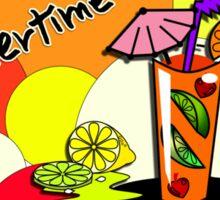 Summertime 1 Sticker