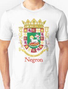 Negron Shield of Puerto Rico T-Shirt