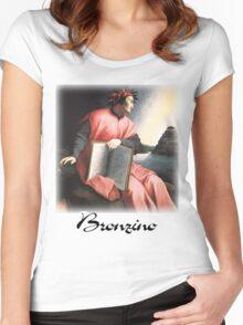 Bronzino  - Allegory of Dante  Women's Fitted Scoop T-Shirt