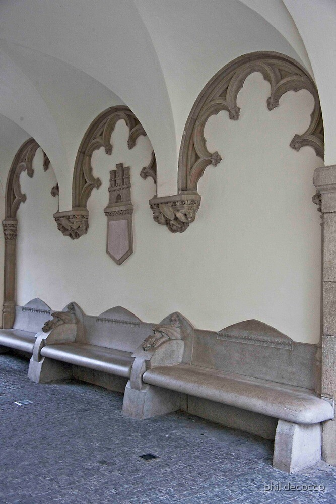 City Museum Stone Benches by phil decocco
