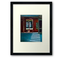 The Window Without a View Framed Print