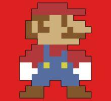 Super Mario 3D World Mario Sprite Kids Clothes