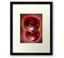 ©HS Eccentric Sphere IABL Framed Print
