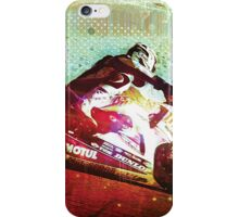 Racing Across the Land of Speed (v2) iPhone Case/Skin