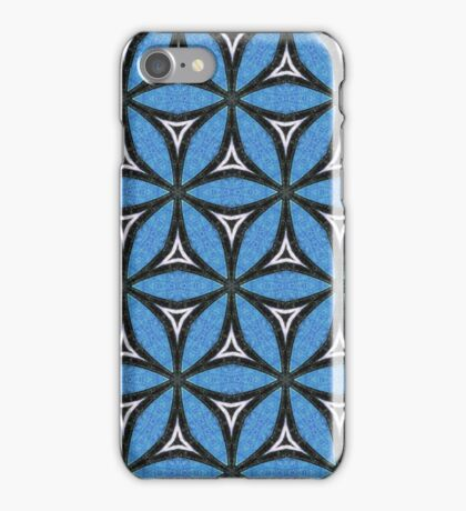 Grungy Geometrical Circles iPhone Case/Skin