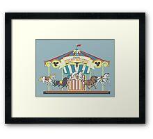 Man's Noblest Companion Carousel Framed Print