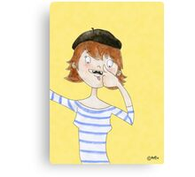 French Humour Canvas Print