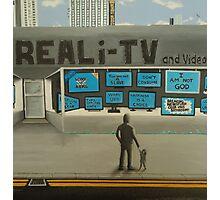 Reali-TV Photographic Print