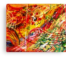 Never a dull day Canvas Print