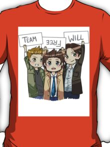 Chibi Team Free Will Ver. 2 T-Shirt