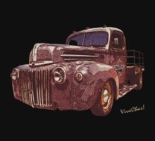 Rat Rod Flatbed 46 Ford by ChasSinklier