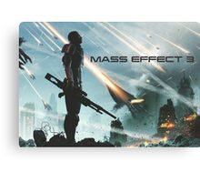earth's siege, mass effect 3  Canvas Print