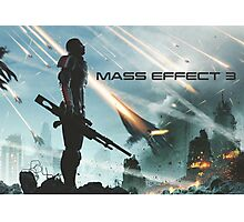 earth's siege, mass effect 3  Photographic Print