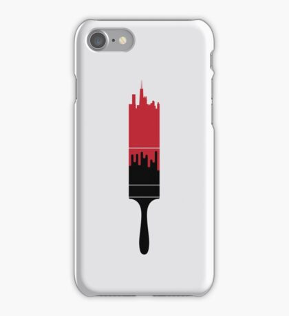Paint the Town Red iPhone Case/Skin