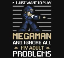 MEGAMAN by MegamanShirts
