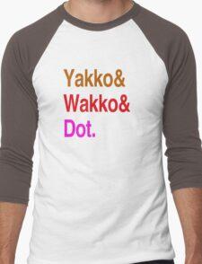 Animaniacs (Yakko, Wakko, Dot) Men's Baseball ¾ T-Shirt