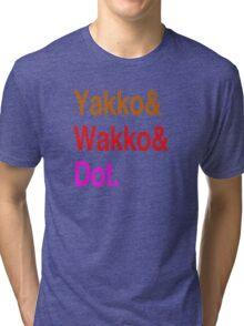 Animaniacs (Yakko, Wakko, Dot) Tri-blend T-Shirt