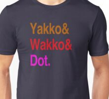 Animaniacs (Yakko, Wakko, Dot) Unisex T-Shirt