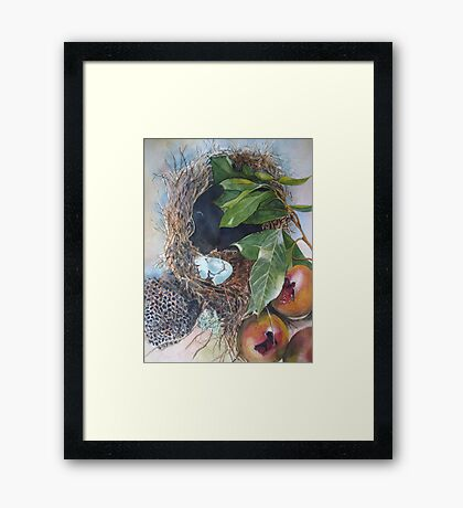 Empty Nests Framed Print
