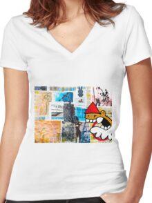 Utrecht! Women's Fitted V-Neck T-Shirt